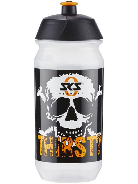 SKS Vannflaske 500 ml Vannflaske 500 ml Hvit/Svart